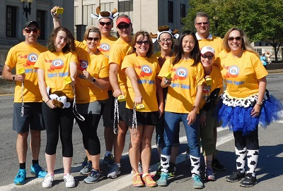 TriVariant's Fisher House Spirit Squad for 2017 Marine Corps Marathon Image